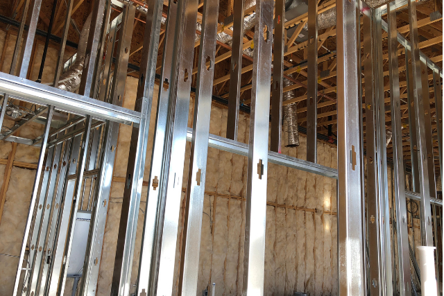 Residential pre-construction Steel Framing