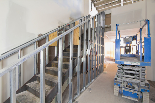 Steel Framing Staircase