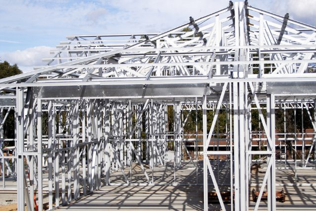 Steel framed home project